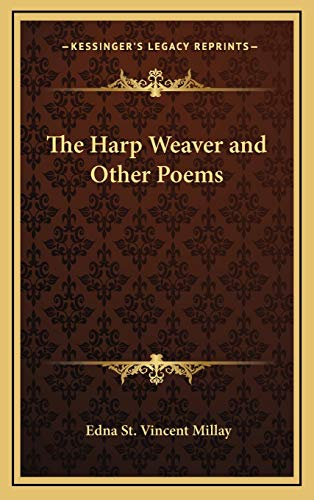 9781169096301: The Harp Weaver and Other Poems