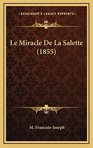 9781169105355: Le Miracle de La Salette (1855)