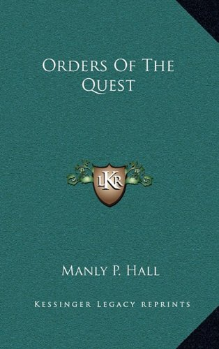 9781169109001: Orders Of The Quest