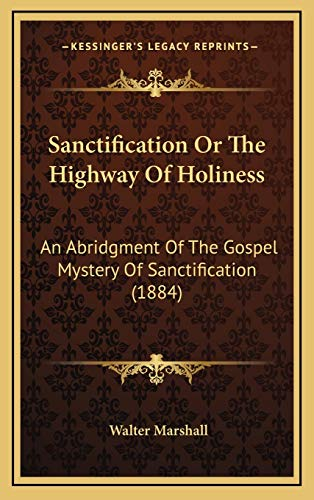 9781169115194: Sanctification Or The Highway Of Holiness: An Abridgment Of The Gospel Mystery Of Sanctification (1884)