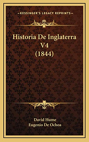 9781169140769: Historia de Inglaterra V4 (1844)