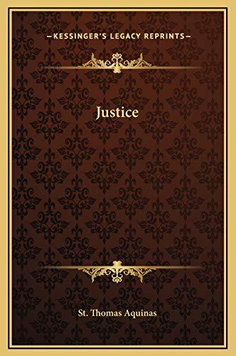 9781169157330: Justice