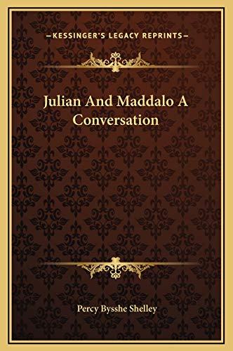 9781169164147: Julian and Maddalo a Conversation