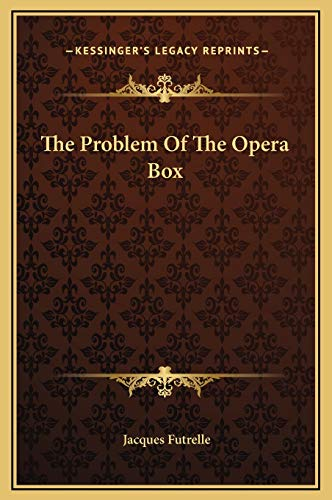 9781169164208: The Problem Of The Opera Box