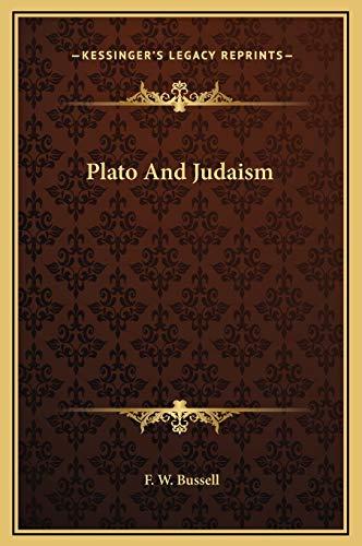 9781169166196: Plato and Judaism