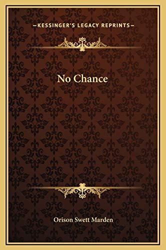 9781169167810: No Chance