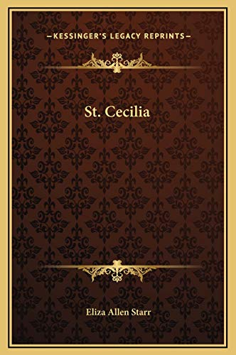 9781169168718: St. Cecilia