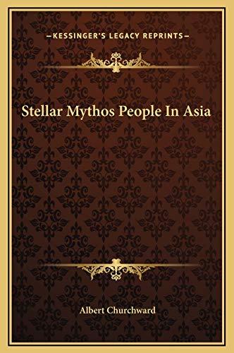 9781169175341: Stellar Mythos People In Asia