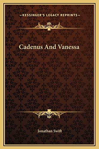 9781169178168: Cadenus And Vanessa
