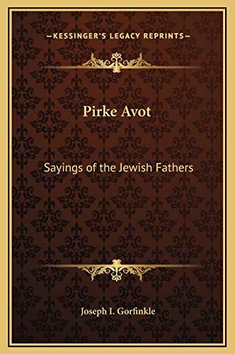 9781169178298: Pirke Avot: Sayings of the Jewish Fathers