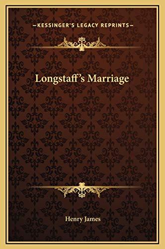 9781169181809: Longstaff's Marriage