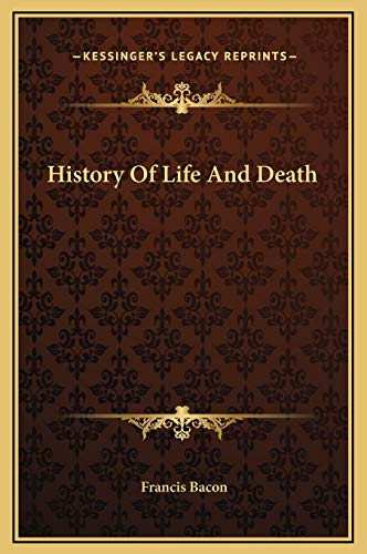 9781169183377: History of Life and Death