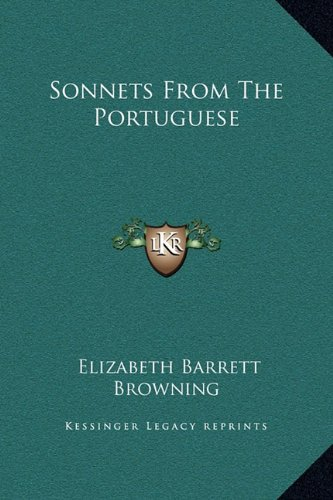 9781169184619: Sonnets From The Portuguese
