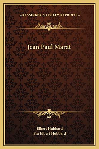 9781169186798: Jean Paul Marat