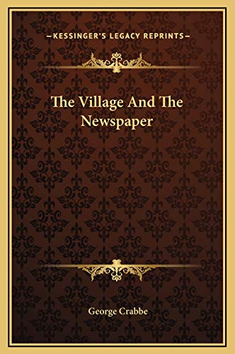 9781169187849: The Village And The Newspaper