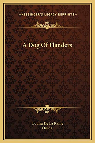 9781169190207: A Dog Of Flanders