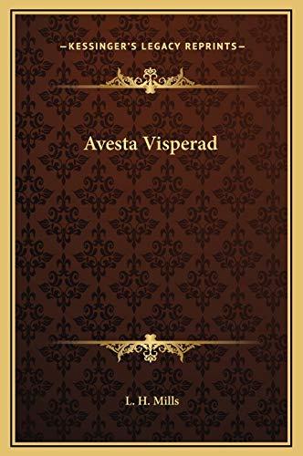 9781169193024: Avesta Visperad