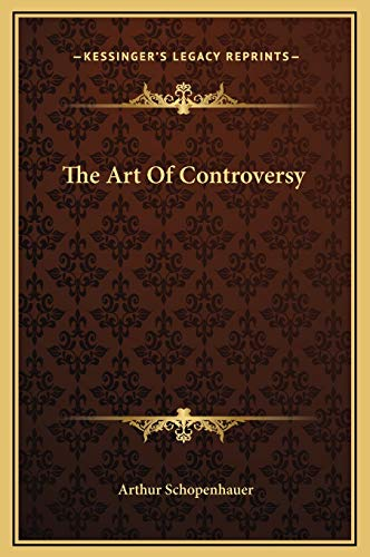 9781169193734: The Art Of Controversy