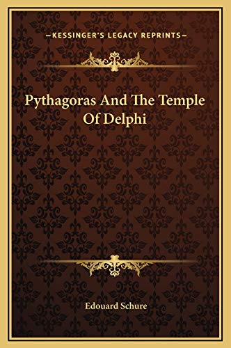 9781169194175: Pythagoras And The Temple Of Delphi