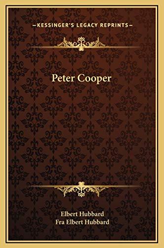 9781169194649: Peter Cooper