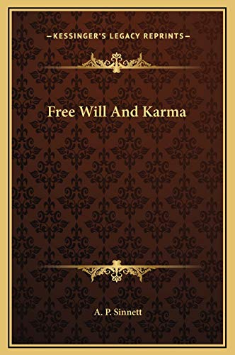 9781169194960: Free Will And Karma