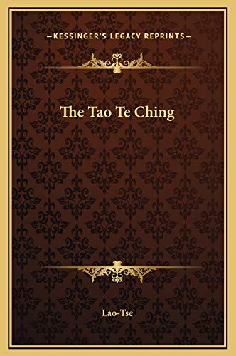 9781169196193: The Tao Te Ching
