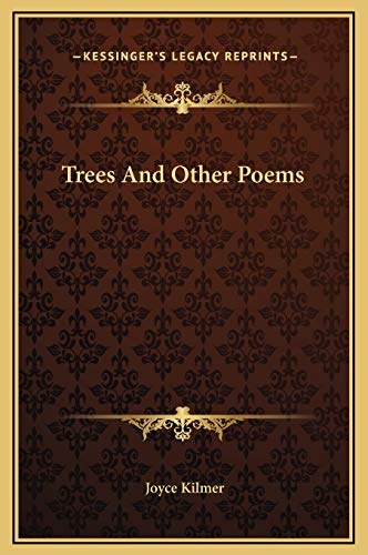 9781169199958: Trees and Other Poems