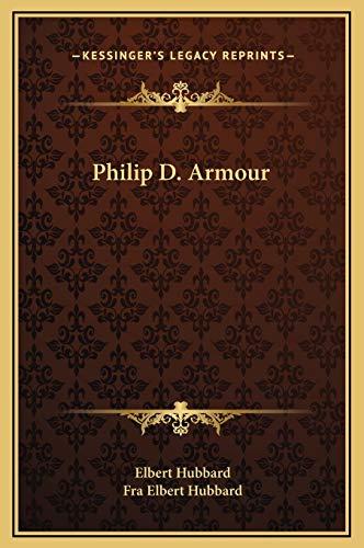 9781169201088: Philip D. Armour