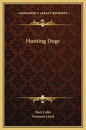 9781169204942: Hunting Dogs