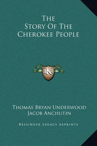 9781169208209: The Story Of The Cherokee People