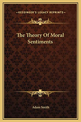 9781169214033: The Theory Of Moral Sentiments