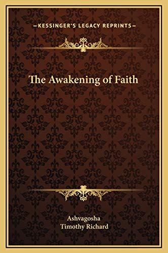 9781169214118: The Awakening of Faith