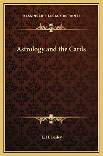 9781169215566: Astrology and the Cards