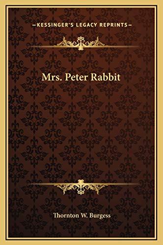 9781169216853: Mrs. Peter Rabbit
