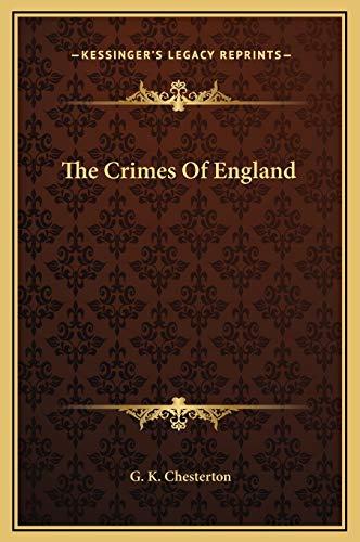 9781169218727: The Crimes Of England