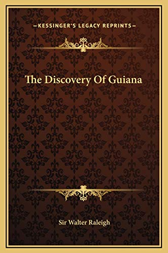 9781169220089: The Discovery Of Guiana