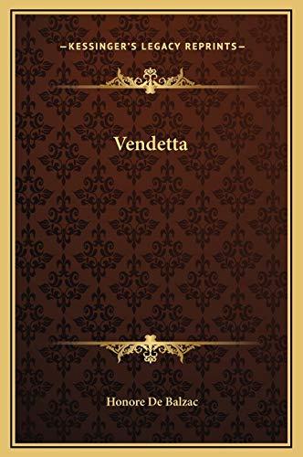 9781169222571: Vendetta