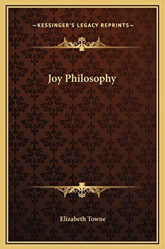 9781169225121: Joy Philosophy