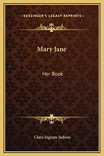 9781169226623: Mary Jane: Her Book