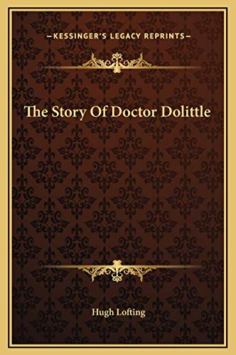 The Story Of Doctor Dolittle (1169227619) by Lofting, Hugh