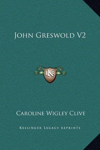 9781169227842: John Greswold V2