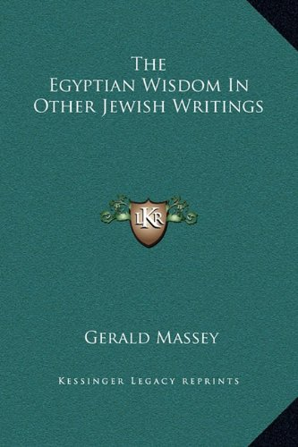 9781169229471: The Egyptian Wisdom In Other Jewish Writings
