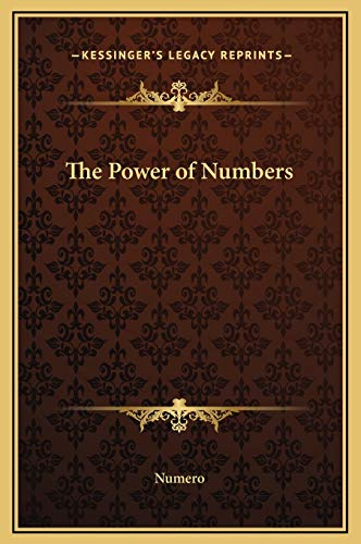 9781169232600: The Power of Numbers