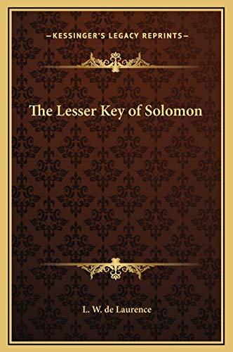 9781169233782: The Lesser Key of Solomon