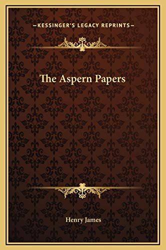 9781169235885: The Aspern Papers