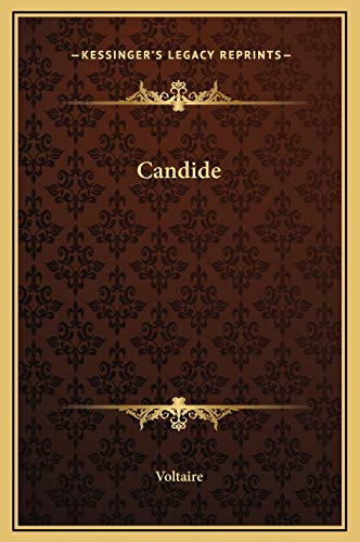 9781169238268: Candide