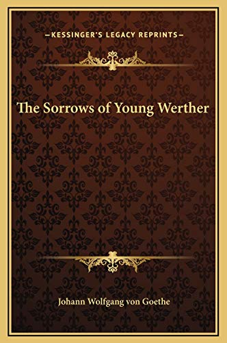 9781169240018: The Sorrows of Young Werther
