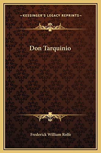 9781169242142: Don Tarquinio