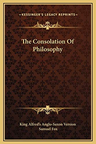 9781169246690: The Consolation Of Philosophy