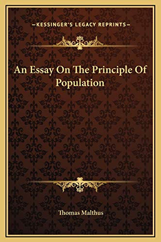 9781169251571: An Essay On The Principle Of Population